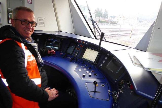 Lokführer Matthias Schlegel über die Jungfernfahrt der Breisgau-S-Bahn