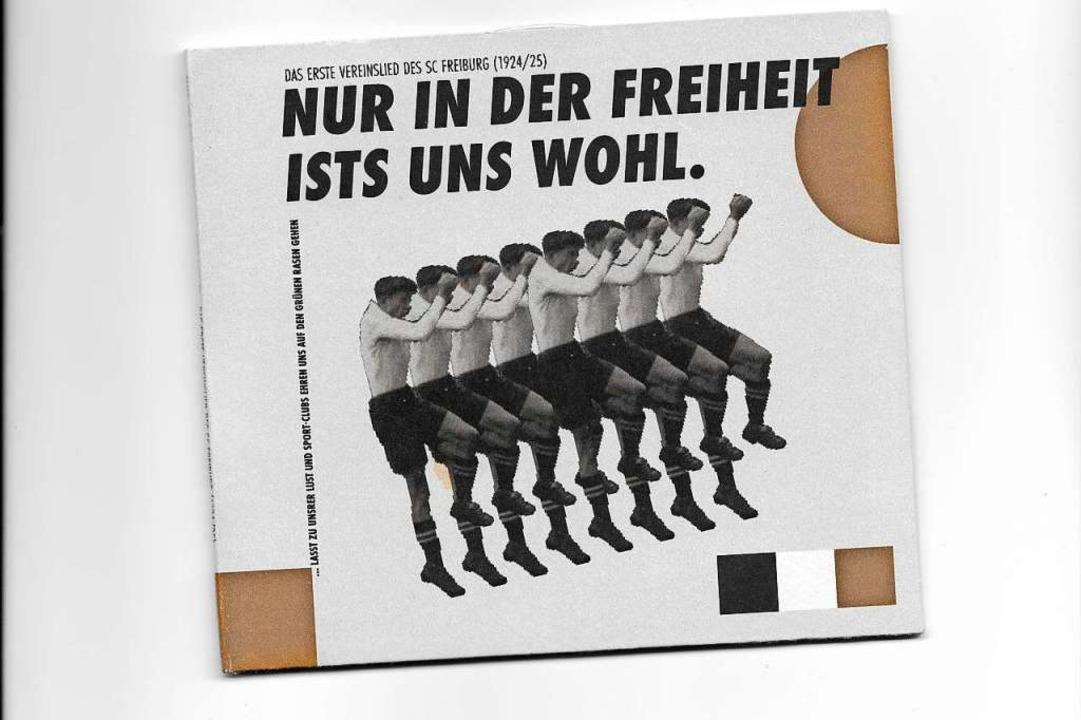 Auch eine CD mit der Interpretation de...ngvereins Tunsel ist jetzt erhältlich.  | Foto: Privat