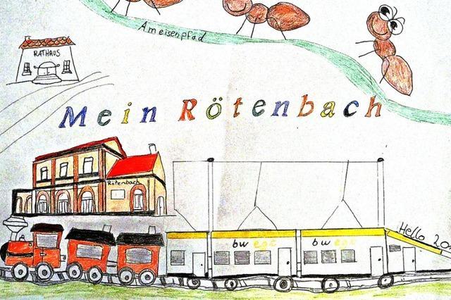 Rötenbach aus Kindersicht