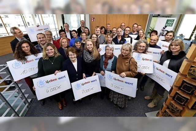 PSD-Stiftung übergibt Spenden an 29 soziale Organisationen