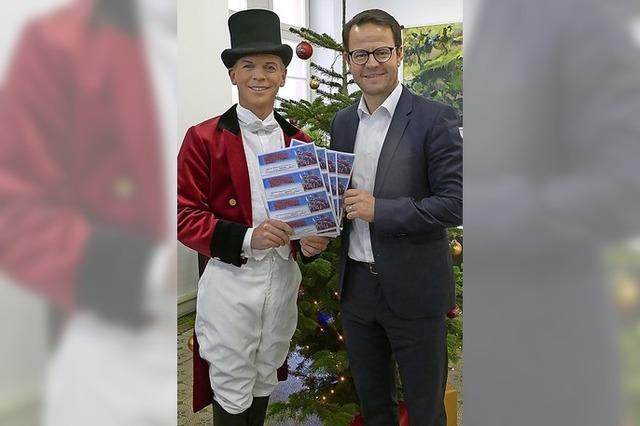 Zirkus spendet 500 Freikarten