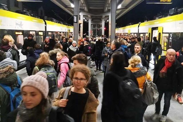 Lokführer auf der Breisgau-S-Bahn: