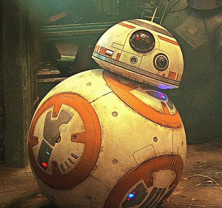 Auch Droide BB-8 rollt wieder.  | Foto: Lucasflm Ltd.