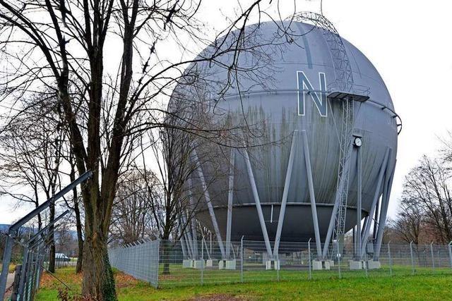 Die Freiburger Gaskugel steht jetzt unter Denkmalschutz