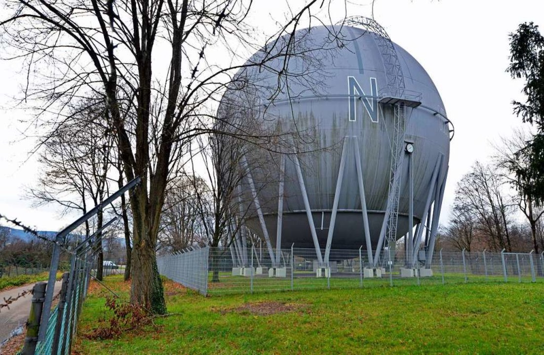 Die Gaskugel im Spätherbst 2019.  | Foto: Michael Bamberger