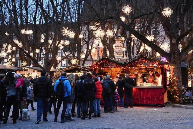 Die Basler Weihnachtsmärkte gehören zu den schönsten Europas