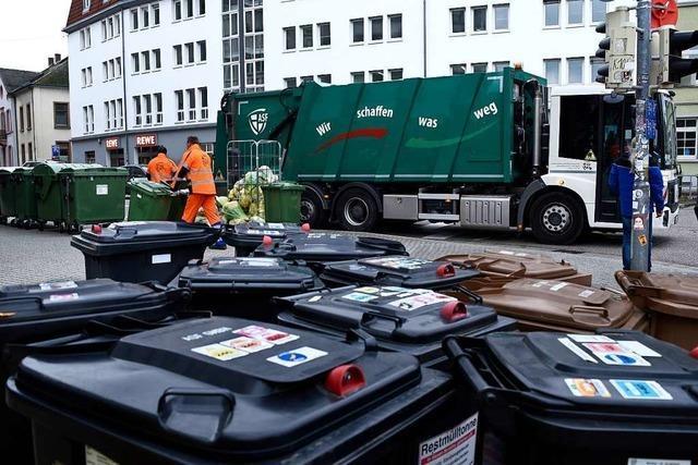 Über Weihnachten andere Abfuhrtermine der Freiburger Müllabfuhr