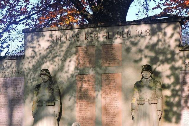 Keine Einigung zum künstlerischen Gegenpol am Kriegerdenkmal Kollnau