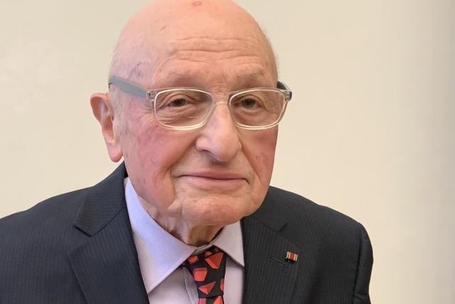 Holocaust-Überlebender aus Kippenheim erhält das Bundesverdienstkreuz