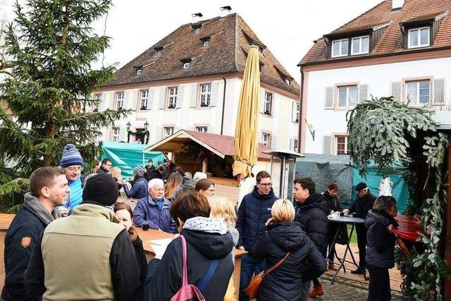 Munzinger Weihnachtsmarkt wartet mit Einzelstücken in Handarbeit auf