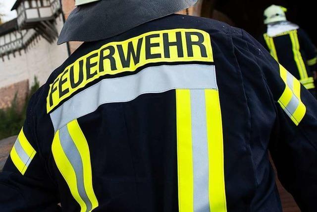 Brand in einer Lackiererei in Bad Säckingen rasch gelöscht