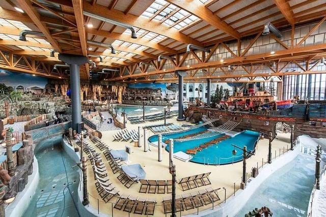 Ruster Grundschüler bekommen Schwimmunterricht im Wasserpark Rulantica