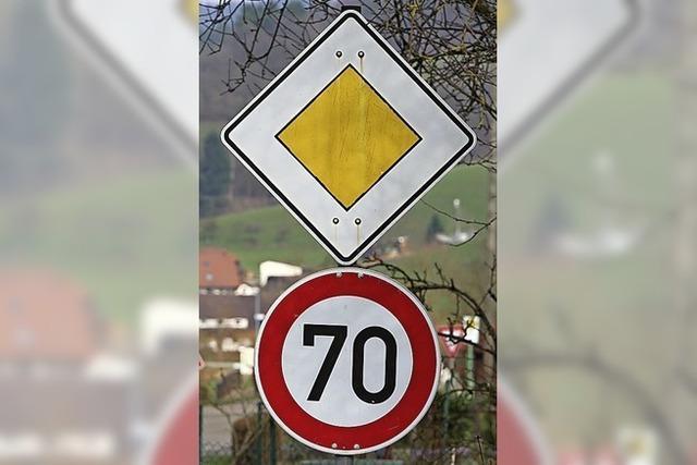 Für Tempo 70 auf der Kreisstraße