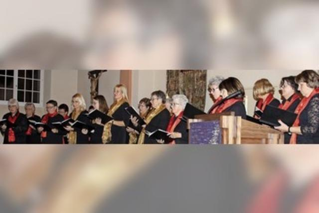 Frauenchor zelebriert stimmungsvolles Konzert zum dritten Advent
