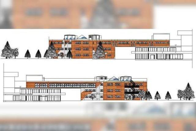 So sieht der erste Entwurf für das Förderzentrum Hochschwarzwald aus