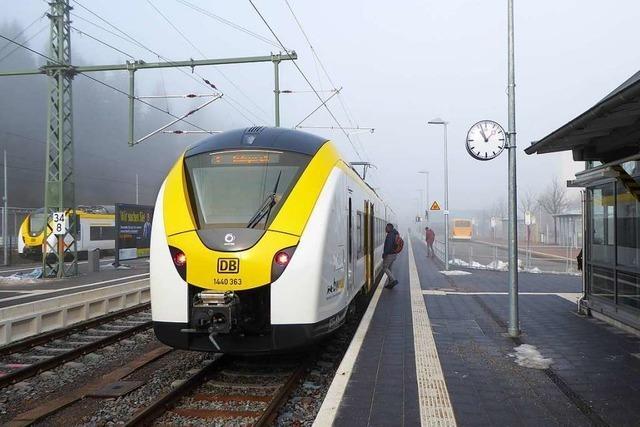 Probleme im S-Bahn-Betrieb zwischen Kaiserstuhl und Schwarzwald halten an