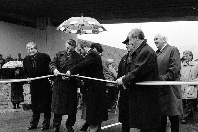 Als Schopfheim aufatmete: Vor 25 Jahren wurde die Umgehungsstraße eingeweiht