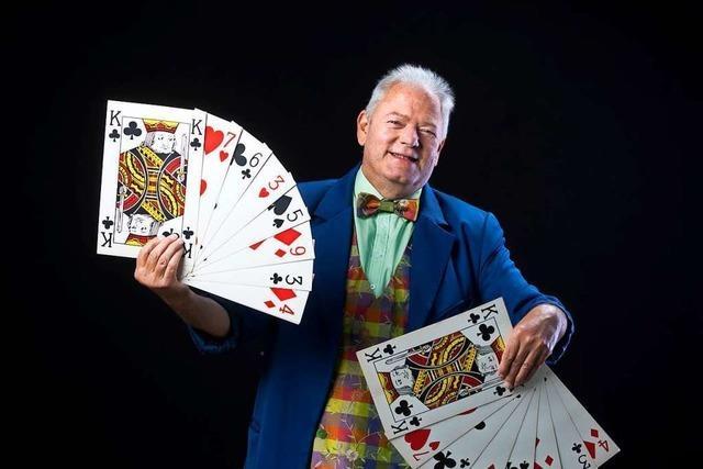 Christoph Mack erfüllte sich seinen Lebenstraum als Zirkusdirektor