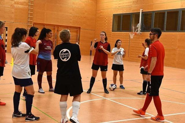 Gehörlosen-Sportverein Freiburg hat ein erfolgreiches Frauenteam