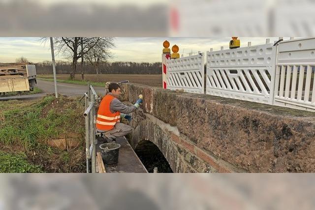 Brücke bei Kappel-Grafenhausen saniert