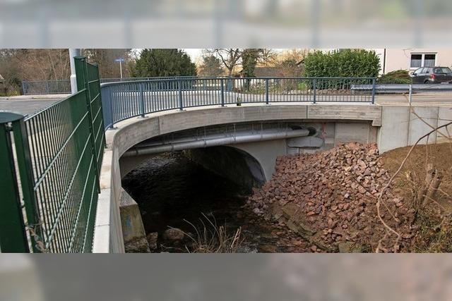 Brückenarbeiten beendet
