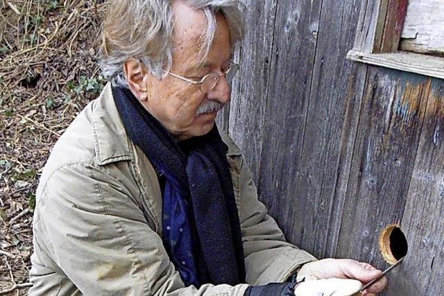 Vogelfreund und Buchautor