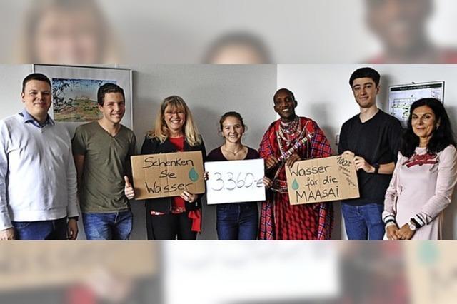 Spenden für einen Brunnen in Kenia