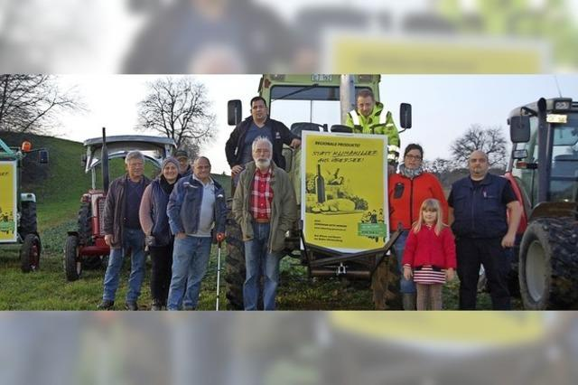 Landwirte machen auf sich aufmerksam