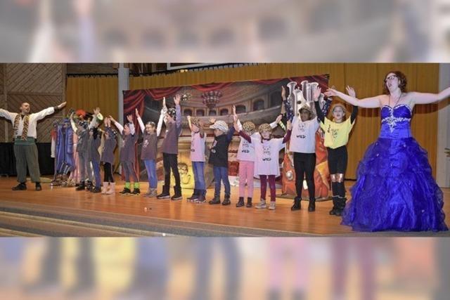 Grundschüler erleben die Welt der Opern