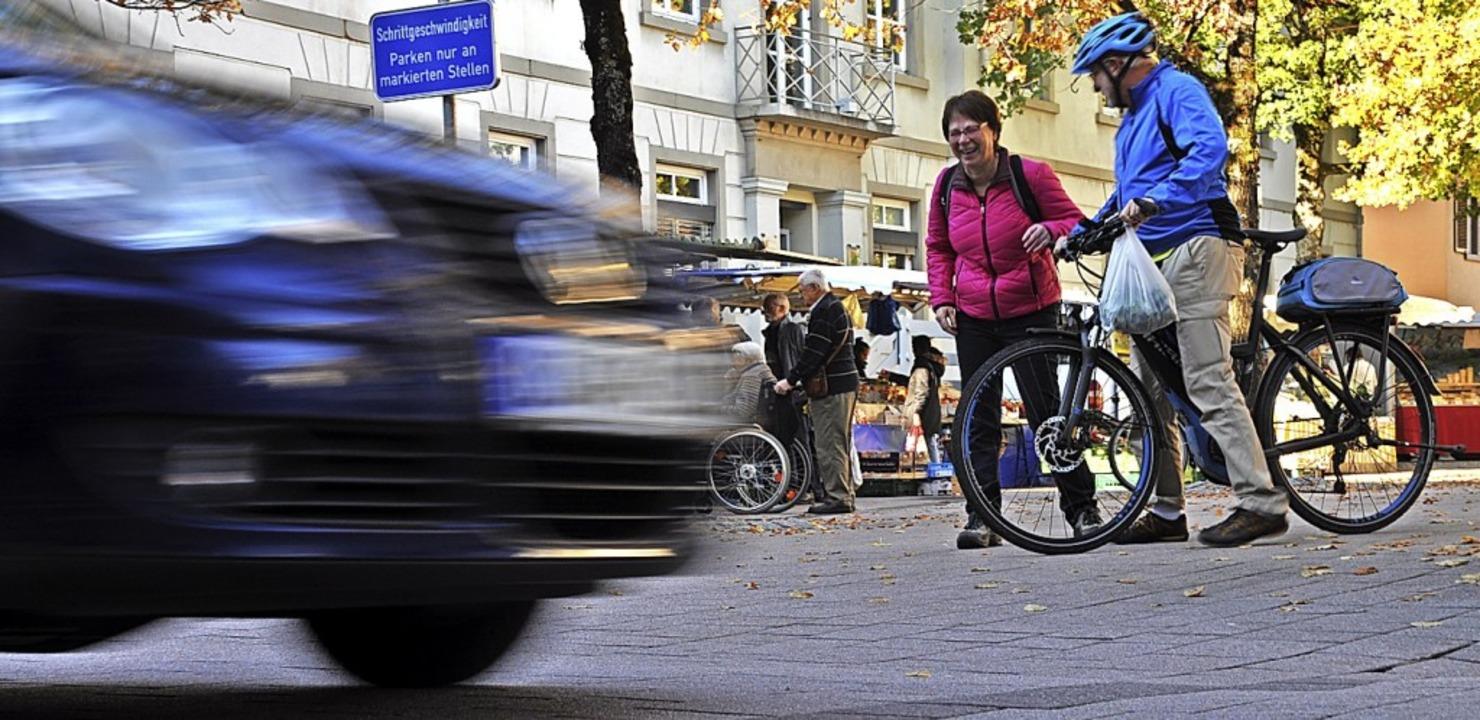 Die Sperrung der Hauptstraße für den A...h wie vor eines der Hauptziele der BI.  | Foto: Nicolai Kapitz