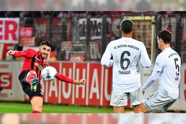 Der Sportclub hat gegen Bayern eine außergewöhnliche Partie geliefert