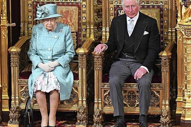 Queen eröffnet erneut das Parlament in London