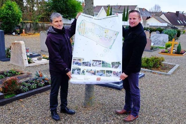 Eschbacher Friedhof soll mehr Platz für Urnengräber bekommen