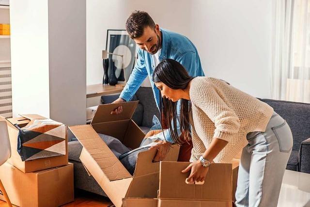 Die Wohnungsuche ist kein großes Hindernis