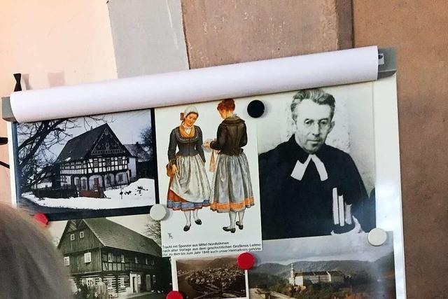 Die Flucht der Sudetendeutschen, die in Steinen endet