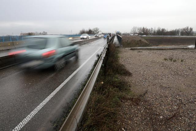 Die neue Autobahnbrücke bei Lahr wird vorerst nicht gebaut