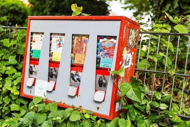 Der Kaugummiautomat