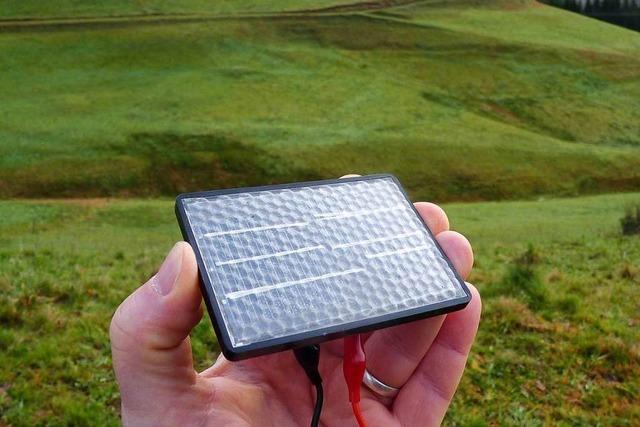 Solarpark für 1,5 Millionen Euro kann in Fröhnd gebaut werden