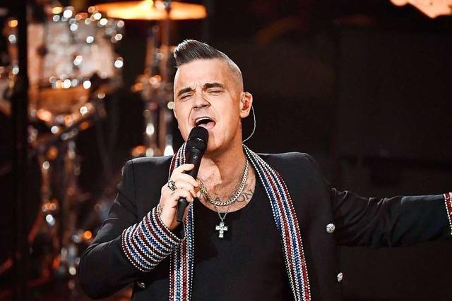 Robbie Williams hat sein erstes Weihnachtsalbum veröffentlicht