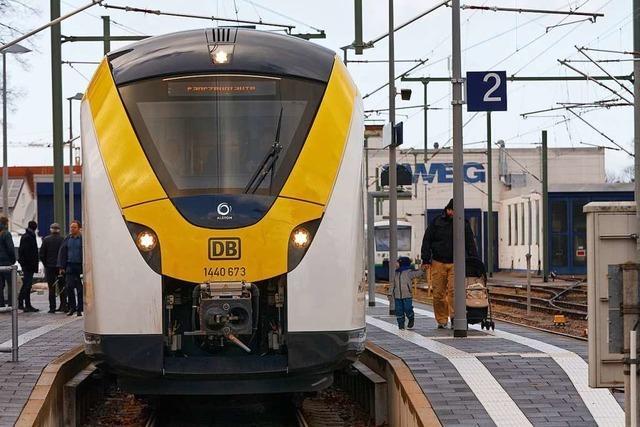 Die erste Betriebswoche der Breisgau-S-Bahn hatte es in sich