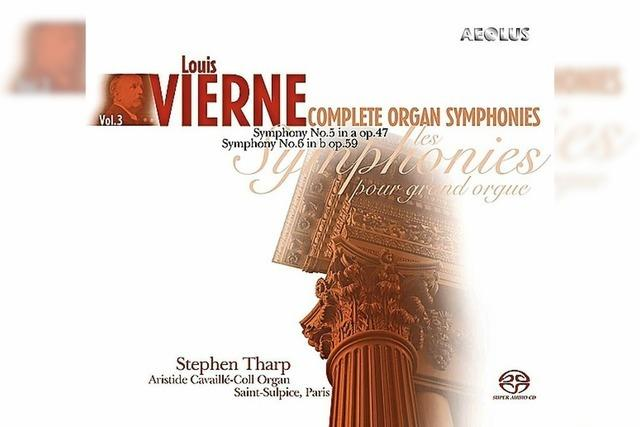CD: KLASSIK: Louis Vierne, grandios