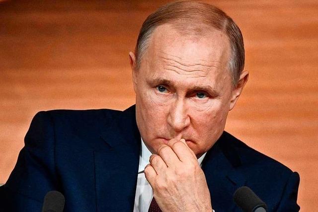 Im Streit um Nord Stream II sitzt Putin am kürzeren Hebel