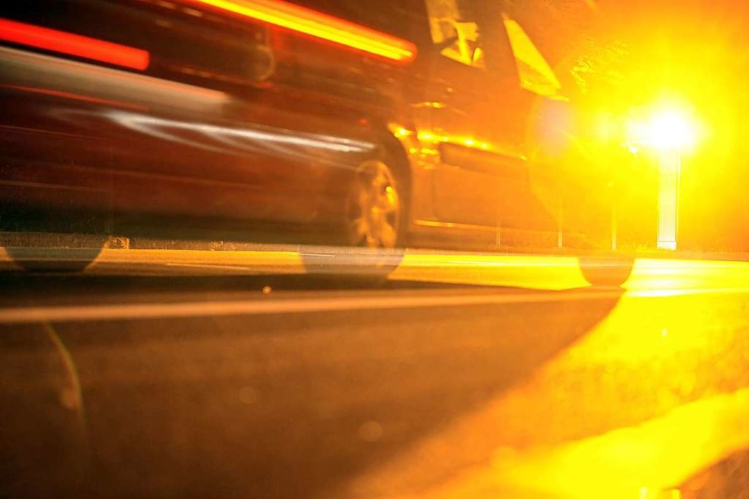 Der Autofahrer war nachts gegen vier Uhr unterwegs, als er geblitzt wurde.  | Foto: Patrick Seeger
