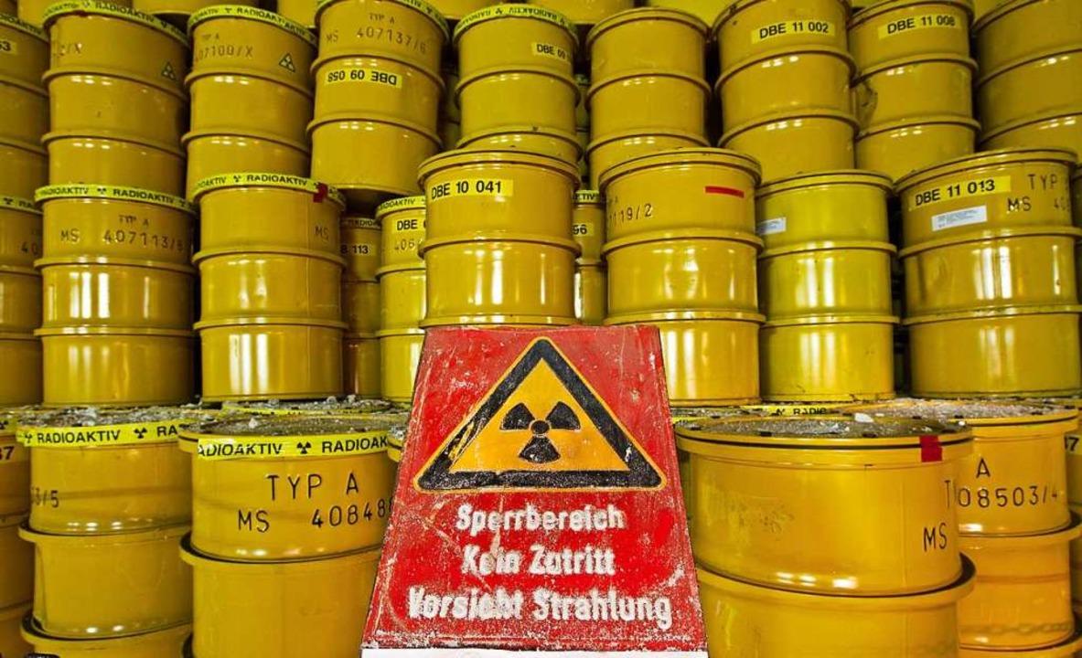 Die Frage nach der Lagerung von Atommü...wieder heftig diskutiert (Symbolbild).  | Foto: Jens Wolf