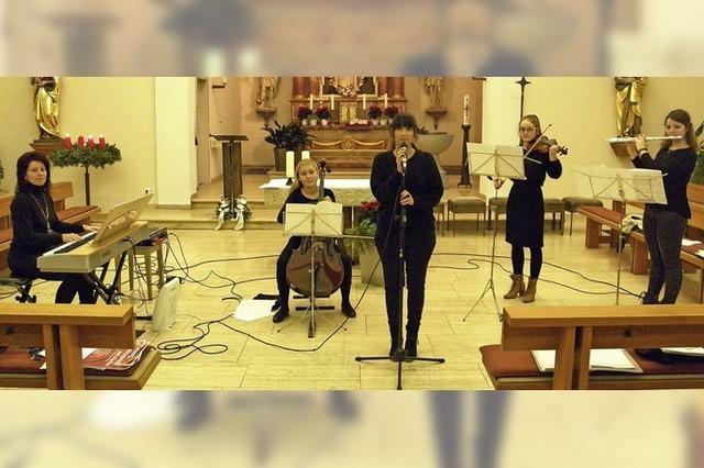 Lokales Quintett präsentiert besinnliche Musik in der Kirche in Görwihl-Strittmatt