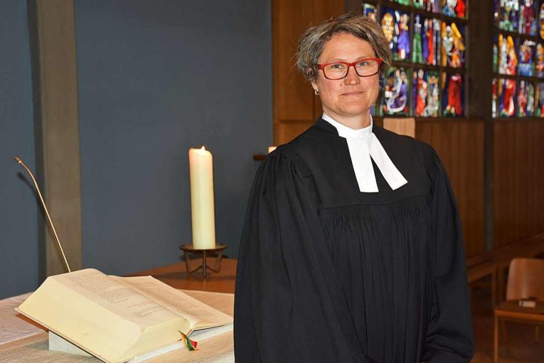 Ulrike Bruinings wird die Predigt halten.  | Foto: Thomas Biniossek