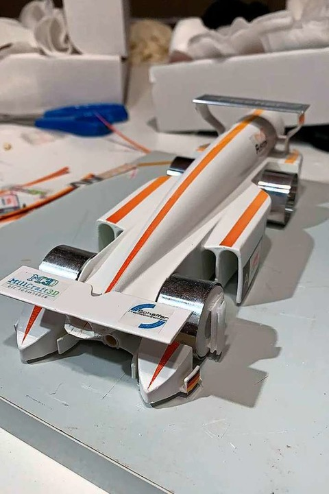 Das Modellauto vom Team Fusion.  | Foto: privat