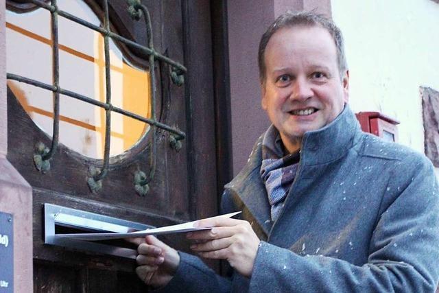 Karlheinz Ronkte will Bürgermeister von Eisenbach werden