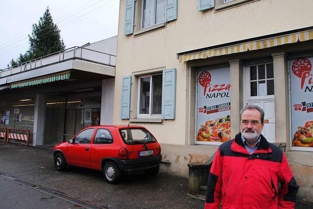 Neubau mit Lebensmittelladen ist im Bötzinger Ortskern geplant