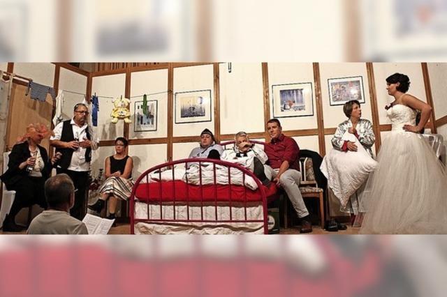Wilde Nacht im Ehebett